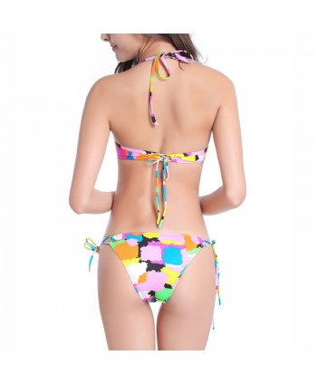 Colorful Tassel Bikini Set