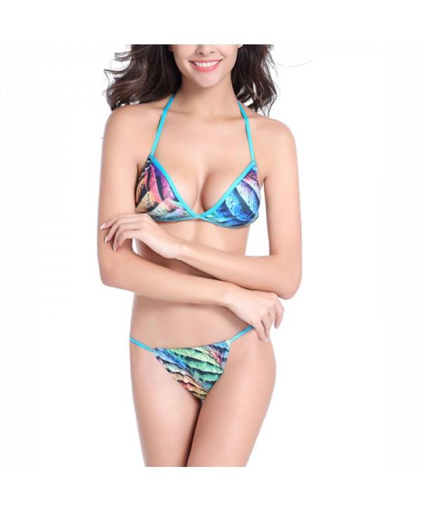 Print Brazilian Cheeky Bikini Set