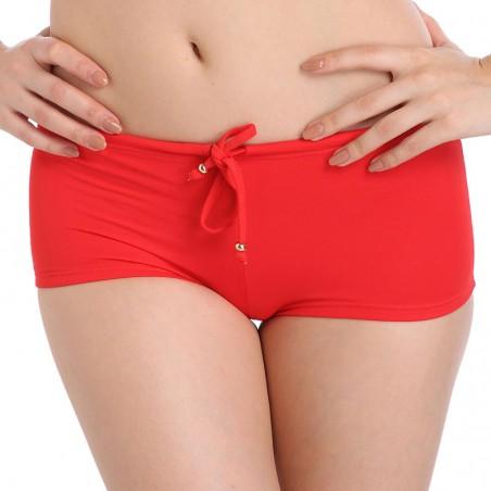 Solid Red Bikini Bottoms