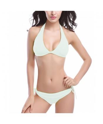 Padded Halter Bikini Set