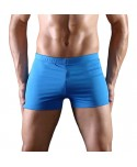 Plus Size Solid Swimming Trunks