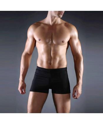 Plus Size Black Swimming Trunks