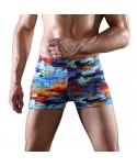 Plus Size Printed Swim Trunks