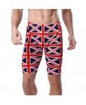 Plus Size UK Flag Print Swim Shorts
