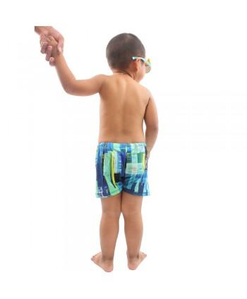 Boys Multicolor Swim Trunks