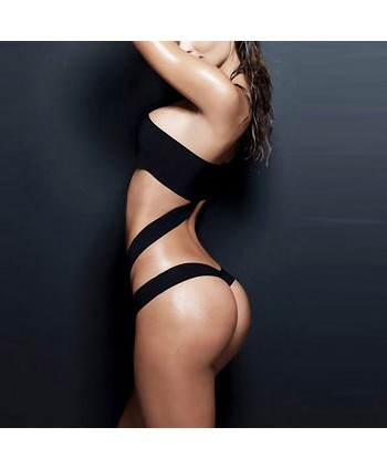 Bandeau Cheeky One Piece Swimsuit