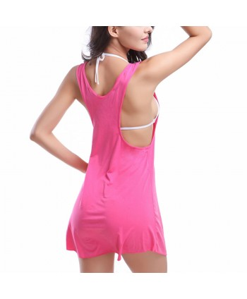 Solid Tank Cover Up Dress