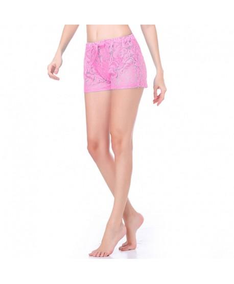 See Through Lace Beach Shorts