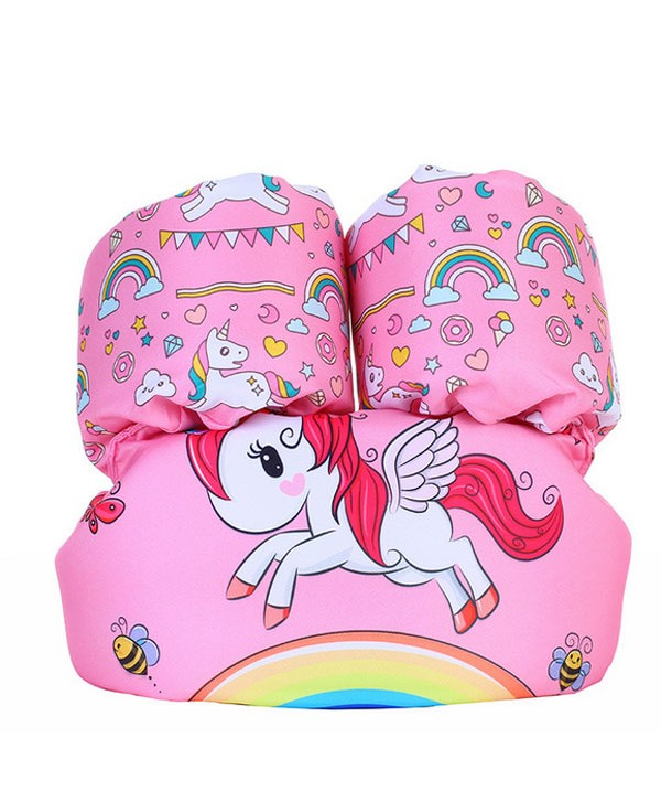 Unicorn Graphic Toddler Float Swim Vest