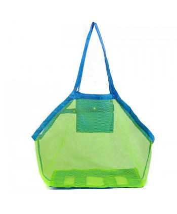 2 Pack Kids Mesh Beach Tote Toy Bag