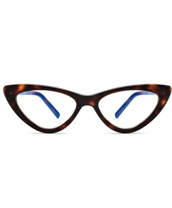 Womens Vintage Cat Eye Decorative Glasses