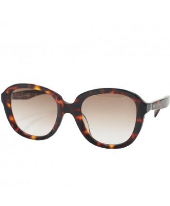 Womens Square Polarized Tortoise  Sunglasses