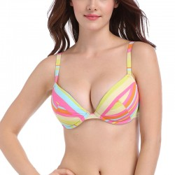 multicolor-push-up-bikini-tops