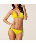 Solid Plus Size Halter Bikini Set