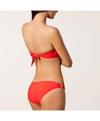 U-Ring Bandeau Bikini Set